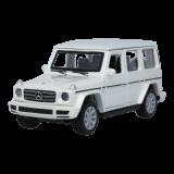 Modellauto G-Klasse, Pullback 1:43 weiß
